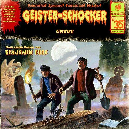 Geister-Schocker (35) Untot (Romantruhe Audio)