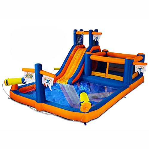 Inflatable Combo Water Park Bounce and Water Slide by Blast Zone