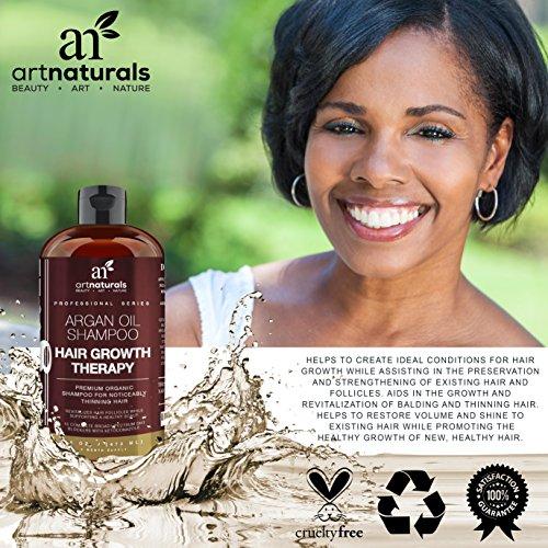Art Naturals Organic Argan Oil Hair Loss Shampoo For Hair