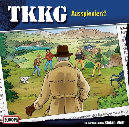 TKKG (187) Ausspioniert! (Europa)