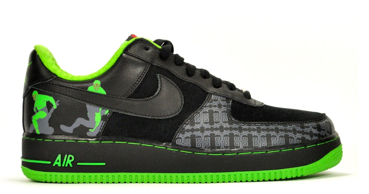 Nike Air Force 1 Premium Lucha Libre - 313641-002 - (11 US / 10 UK)
