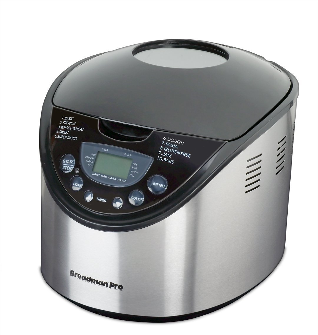 Breadman-TR875 2-Pound-Breadmaker