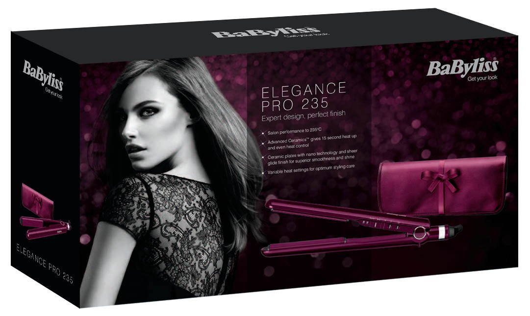 BaByliss Pro 235 Elegance Hair Straighteners Review