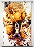 Wall Scroll Poster Fabric Painting For Anime Ushio and Tora Ushio Aotsuki & Tora 004 L