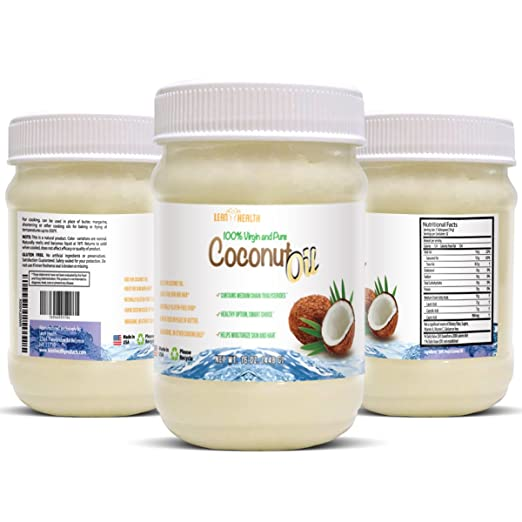 Coconut Oil - Pure Fractionated Extra Virgin and Raw - Irresistible Taste and Aroma - Cold Press Satisfaction Guarantee