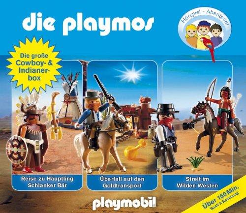 Die Playmos: Die große Cowboy- und Indianerbox (Lübbe Audio)