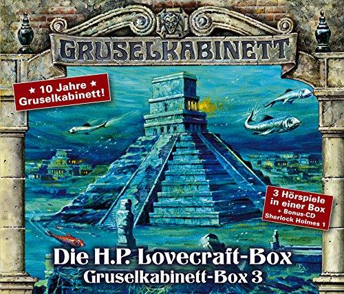 Gruselkabinett - Die H.P.Lovecraft-Box (Titania Medien)