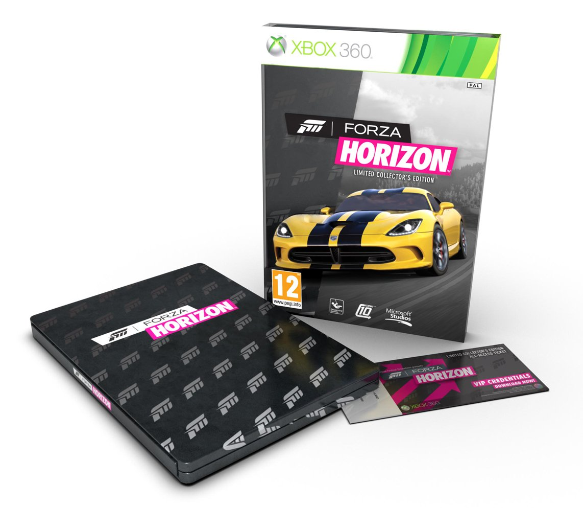Forza Horizon Packaging