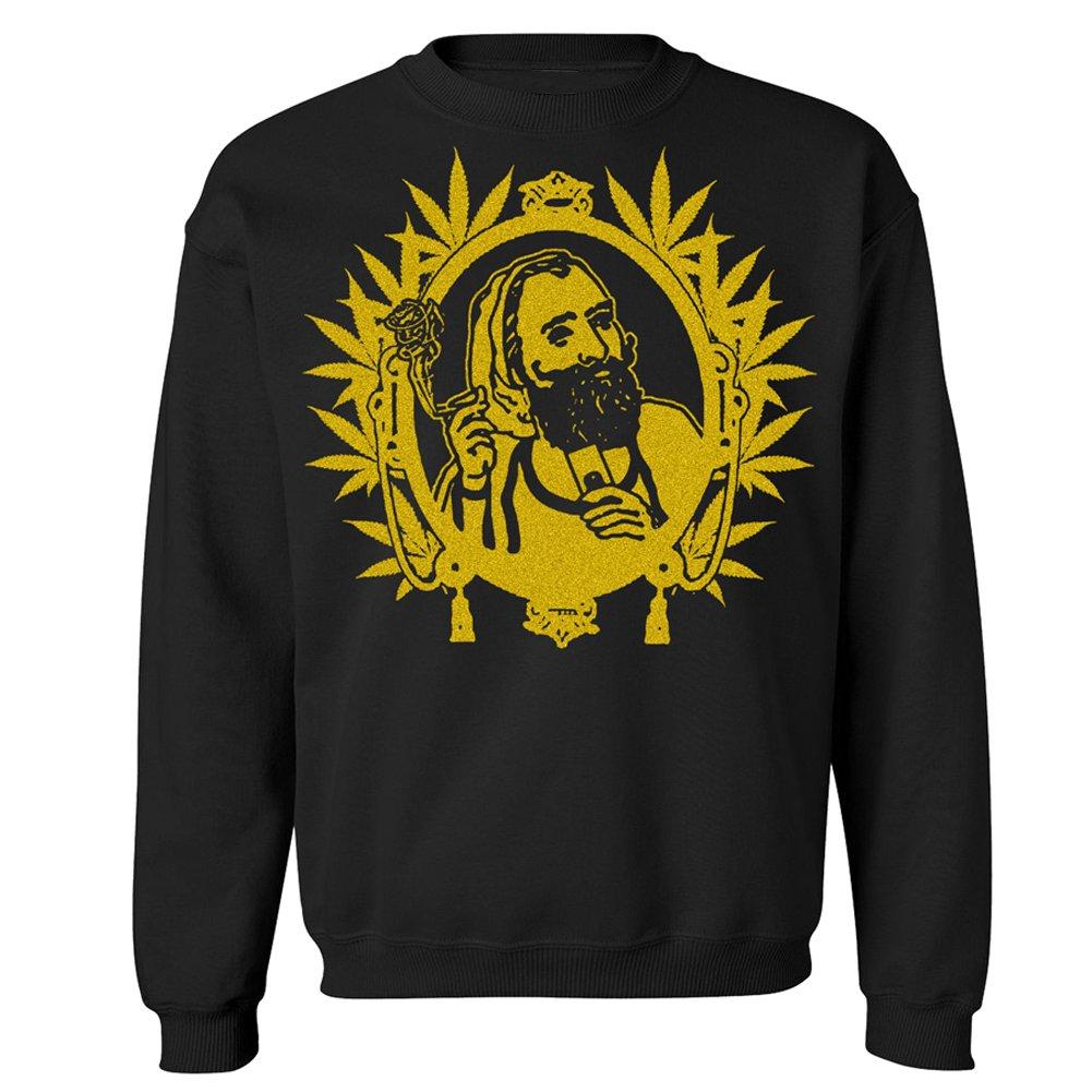 Graphic Villain Zig Zag Man Crewneck Sweatshirt