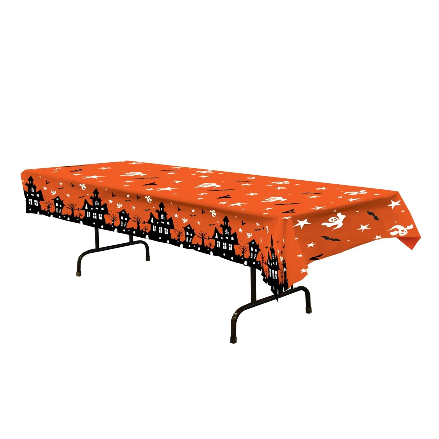 Haunted House Tablecover Party Accessory 54 x 108