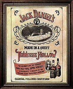Amazon.com: Jack Daniel's (Distillery) Framed Art Print ...