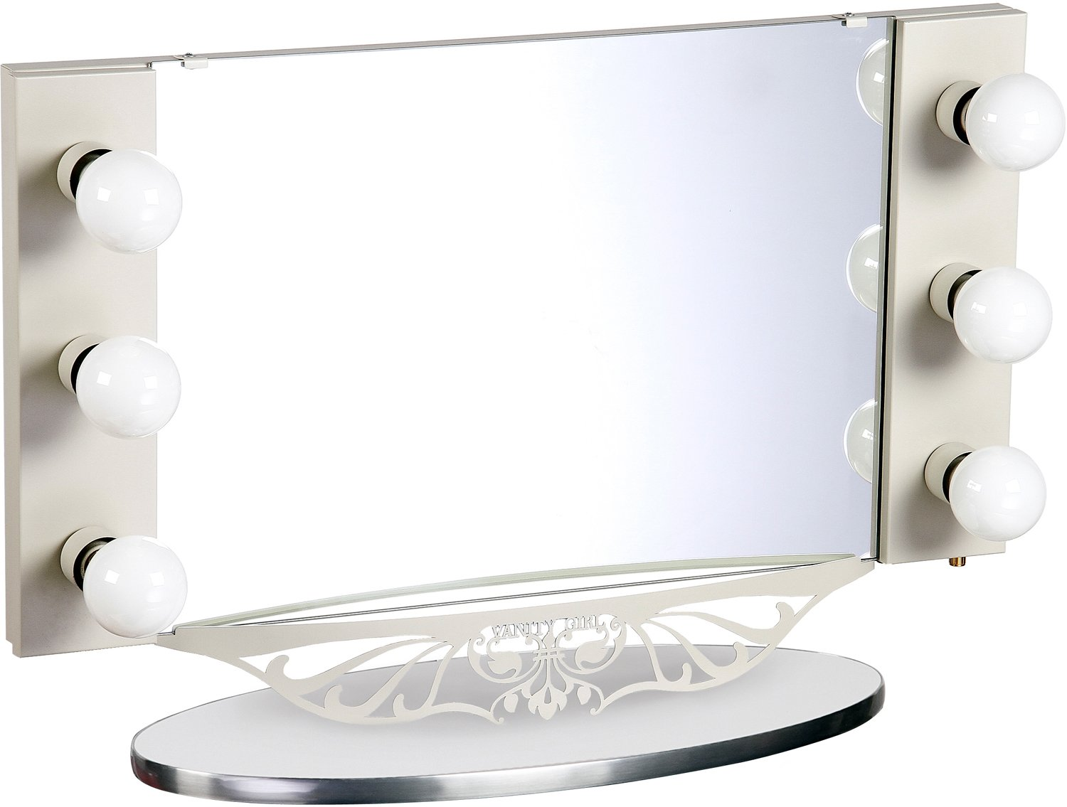 Basic U0026 More Affordable Table Top Vanity Mirrors