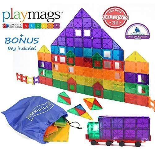 Playmags Magnetic Building Set 100 Pc
