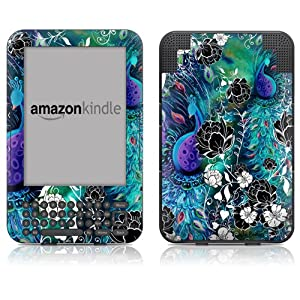 "DecalGirl Kindle Skin (Fits 6"" Display, Latest Generation Kindle) Peacock Garden (Matte Finish)"