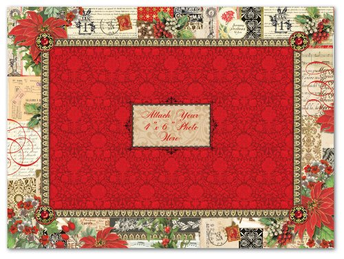 dimensional punch studio boxed christmas cards