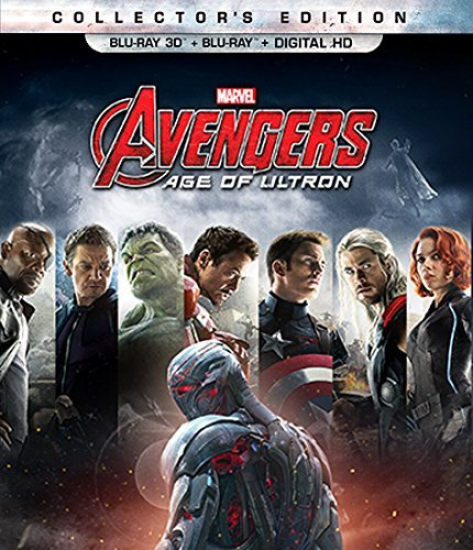 Marvel's Avengers: Age of Ultron (Collector's Edition) / アベンジャーズ:エイジ・オブ・ウルトロン (Blu-ray 3D + Blu-ray + Digital HD) [北米版]
