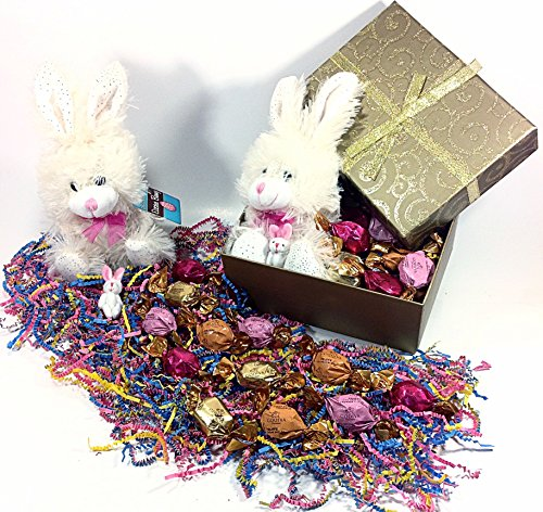 Gold Shimmer Godiva Easter Basket Alternative