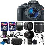 Canon-EOS-Rebel-SL1-180-MP-CMOS-Digital-SLR-Full-HD-1080-Video-Body-with-EF-S-18-55mm-Complete-Deluxe-Accessory-Bundle