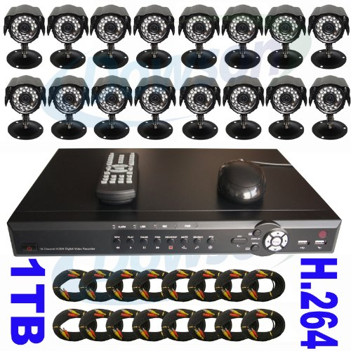 Q See Wireless Security Camera System Dvr