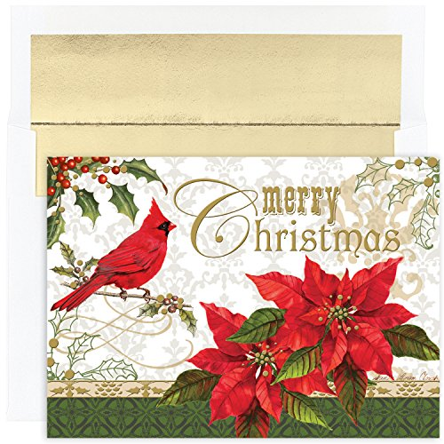 Masterpiece Studios Boxed Cards 16 Count Merry Christmas