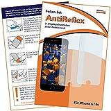 mumbi Displayschutzfolie iPhone 6 6s Schutzfolie AntiReflex matt (2er Set)