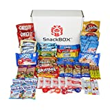 Care Package for College Students, Military, Birthday, or Back to School (50 Count) From Snack Box ...
