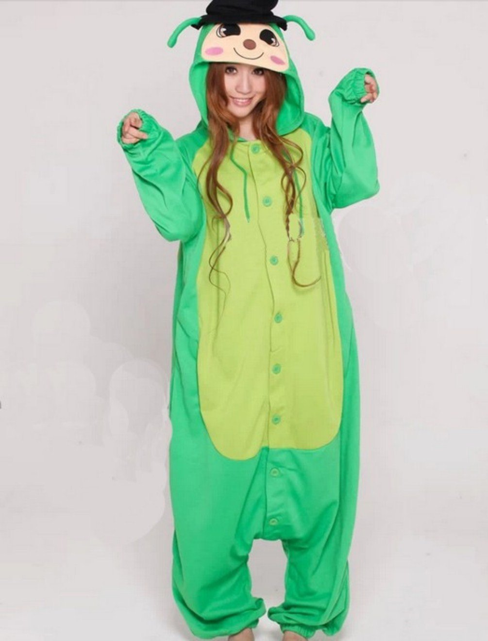 Adults Costume Ladies Locust Kigu
