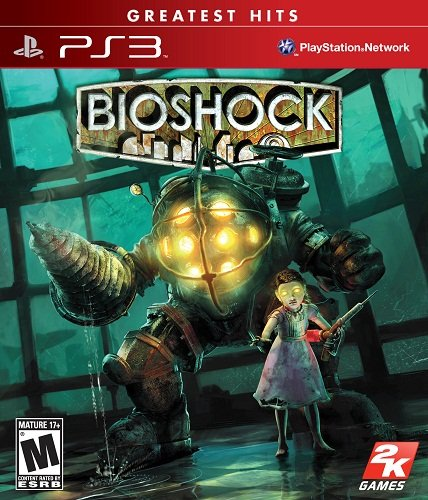 Capa do Bioshock 2 - PS3