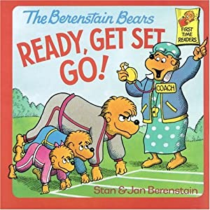 "Cover of ""The Berenstain Bears Ready, Get..."