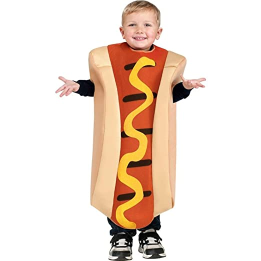 Toddler Hot Dog Costume, 3T-4T