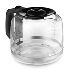 KitchenAid Glass 14 Cup Replacement Coffee Carafe KCM14GC