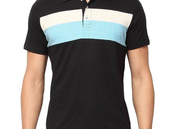Campus Sutra Men Polo Neck Half Sleeve T-Shirt