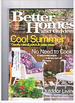 Better Homes and Gardens June 2000 Cool Summer-comfy ... on Porch & Patio Casual Living id=28891