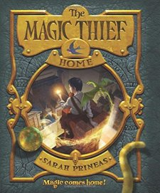 The Magic Thief: Home: Book Four by Sarah Prineas| wearewordnerds.com