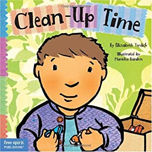 "Cover of ""Clean-Up Time (Toddler Tools)"""