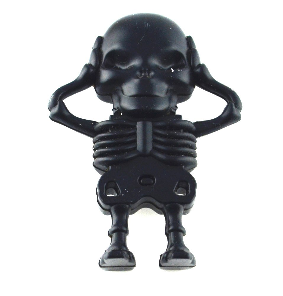 Skeleton Shape 16GB USB Flash Drive (Black)