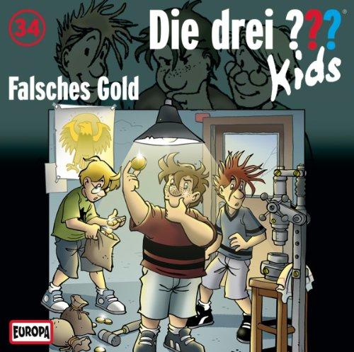 Die drei ??? Kids (34) Falsches Gold (Europa)