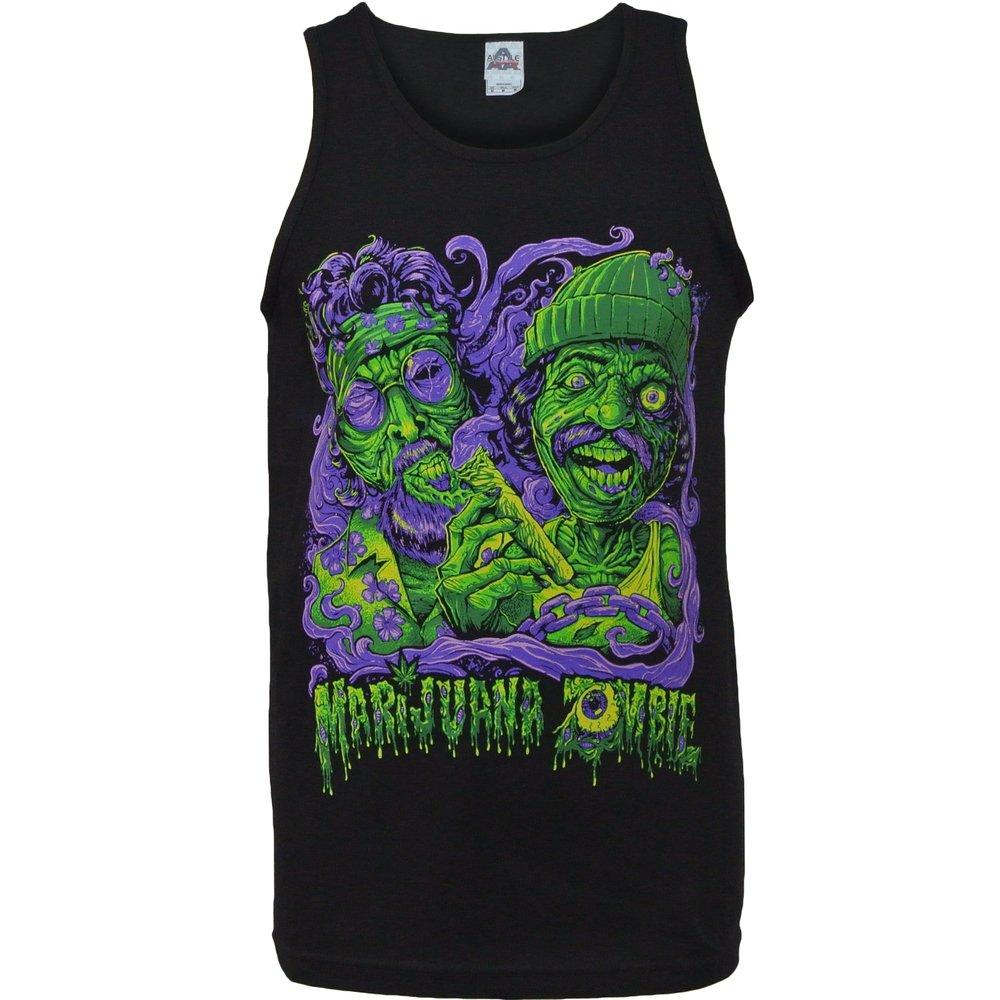 Music + Marijuana = Magic Tank Top Shirts