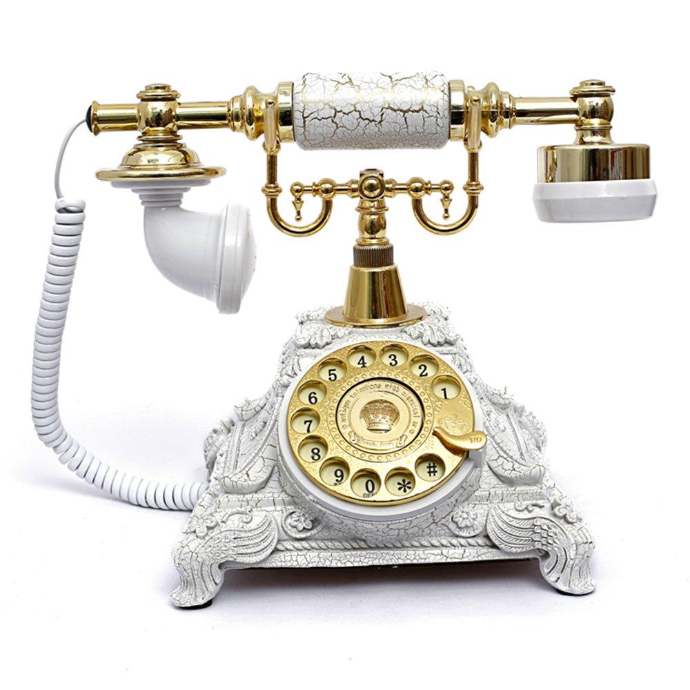 Retro Vintage Antique Style Rotary Dial Desk Telephone