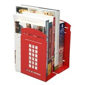 telephone box style book ends