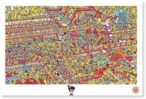 ウォーリーをさがせ!ポスター/Where's Wally!?/ウォーリーを探せ/Cake Factory