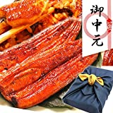 ギフト 鰻の蒲焼2~3人分 風呂敷包みセット 国内産うなぎ 2~3人前用
