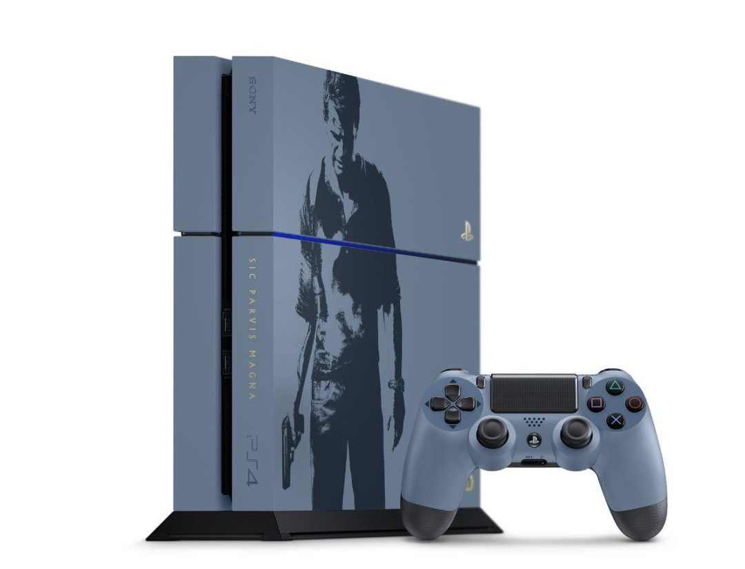Uncharted 4: A Thief's End Limited Edition PS4 Bundle Revealed 4