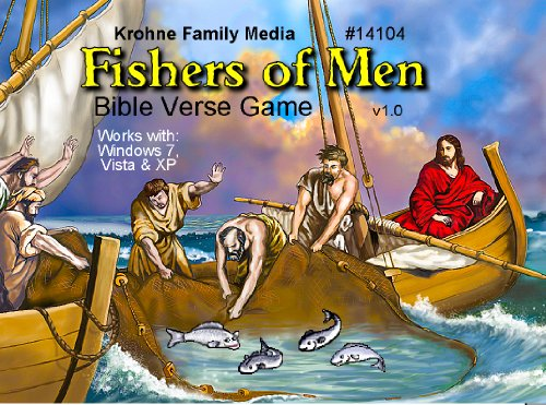Bible Fishers Verse Man