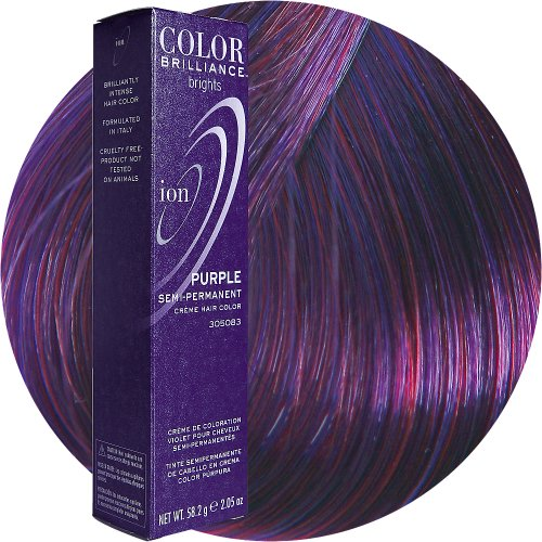 Ion Semi Permanent Hair Color Purple