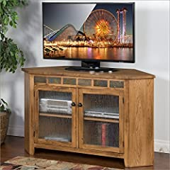 Sunny Designs Sedona 55 in. Corner TV Console