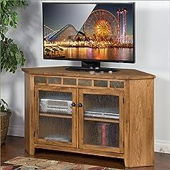 Sunny Designs Sedona 55 in. Corner TV Console