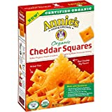 Annie's Homegrowns Organic Cheddar Squares, 6.75 Ounce