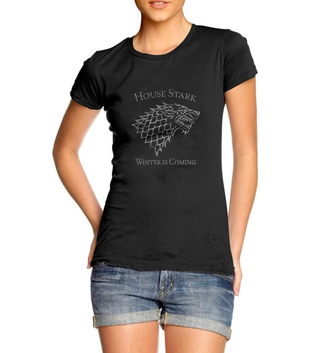 House of Stark - Winter is Coming - Ladies T-shirt