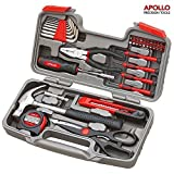 61YVokbI3DL. SL160  - BEST BUY #1 Apollo Precision Tools 39 Piece DIY Home Household Toolkit with Combination Pliers in Box Case- Great Gift